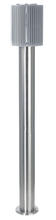 Eglo 89575A - 1x40W Outdoor Post Light w/ Aluminum Finish