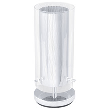 Eglo 92847A - 1x60W Table Lamp w/ Chrome Finish & Clear Glass