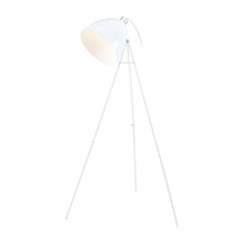 Eglo 92891A - 1x100W Floor Lamp w/ Glossy White Finish