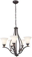 Minka-Lavery 3285-589 - 5 Light Chandelier