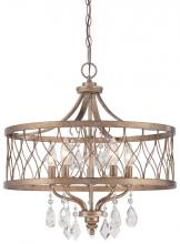 Minka-Lavery 4404-581 - 5 Light Chandelier