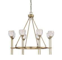 Savoy House 1-9100-8-322 - Garland 8 Light Chandelier