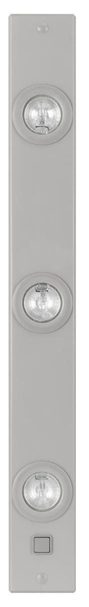 Eglo 86356A - 3 x 20W Under Counter Light w/ Silver Finish