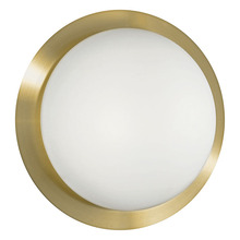 Eglo 88098A - 2X13W Ceiling Light w/ Brass Coated Finish & Satin Glass