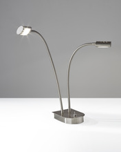 Adesso 5032-22 - Eternity Double Gooseneck Desk Lamp