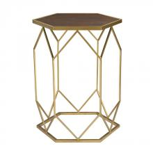 Sterling Industries 51-010 - Hexagon Frame Side Table