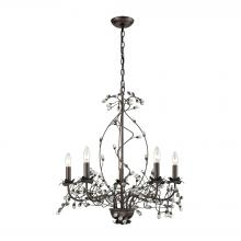 Sterling Industries D3400 - Oberon 5 Light Grande Chandelier