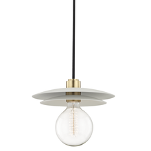 Hudson Valley H175701L-AGB/WH - 1 Light Large Pendant