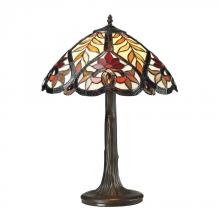 Dimond 72080-1 - Brimford Tiffany Glass Table Lamp in Tiffany Bronze