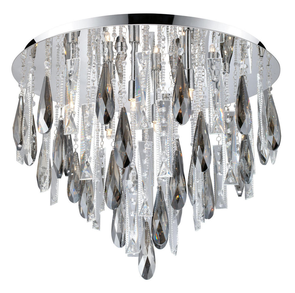 Crystal Ceiling Light 93433a Flushing Lighting